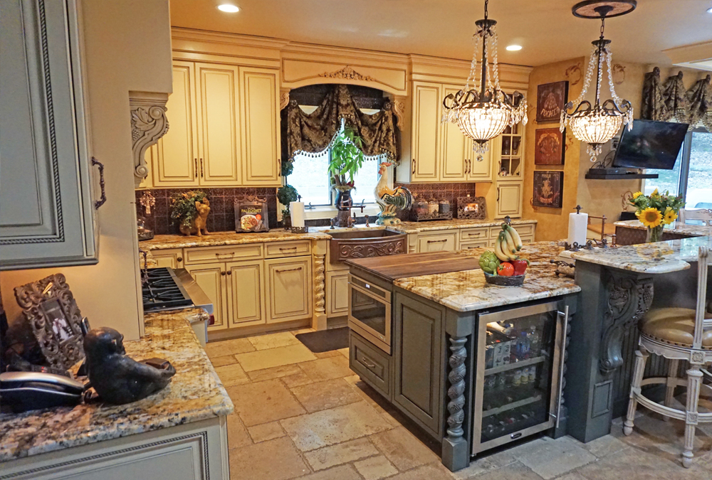 Colts-Neck-NJ-Custom-Kitchen-Wide-Angle