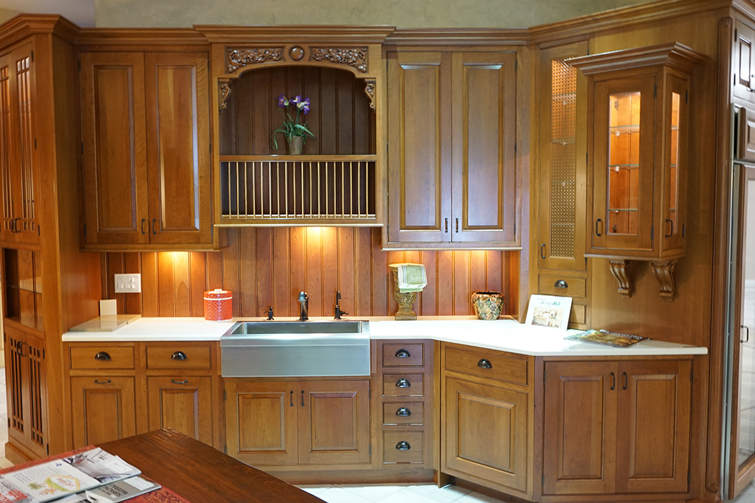 An example of our Kitchen Showroom in central New Jersey features a wide range of styles