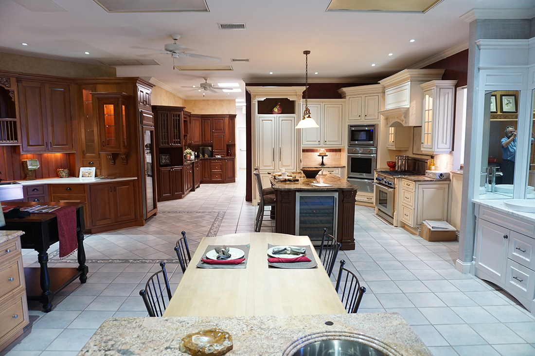 Our Milburn/Vauxhall, New Jersey Showroom Features Nearly A Dozen Kitchens