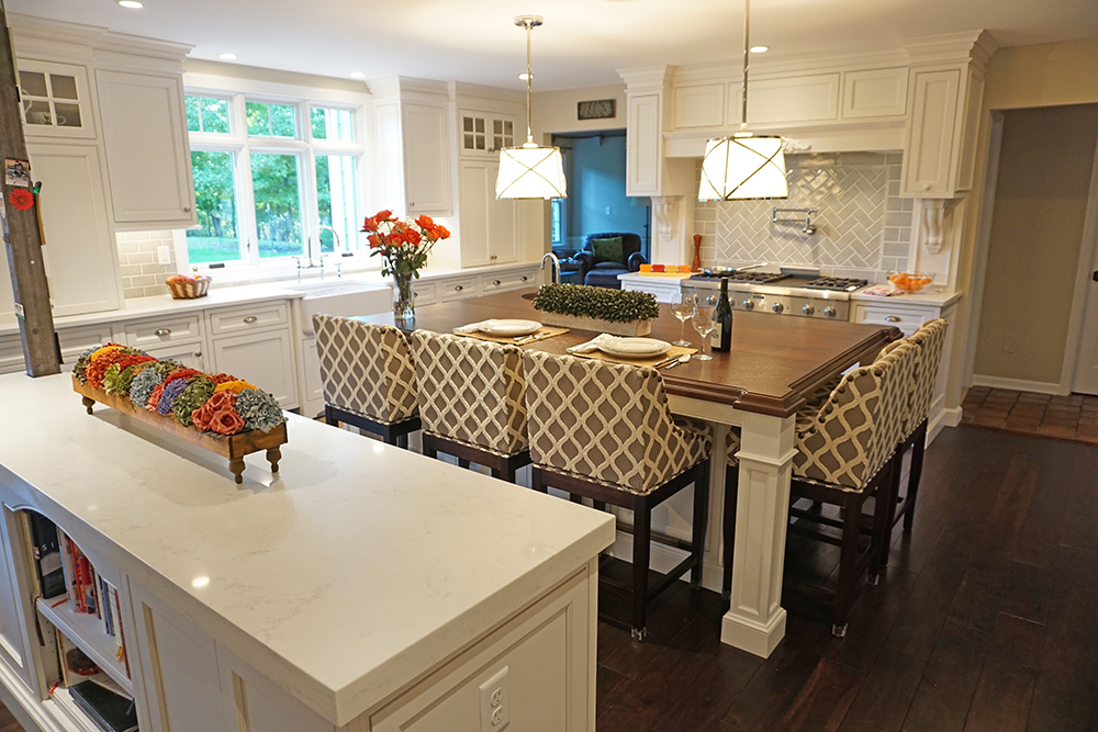 Photo of European Country Kitchen style kitchen in a basking ridge New Jersey home