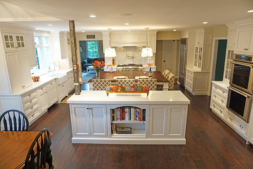 This picture shows the entire newly renovated Basking Ridge, NJ poictures