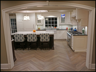 Guided tour of a renovated kitchen in westchester county New York