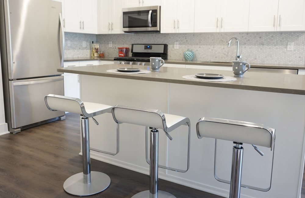 New apartment kitchen - Karney New Jersey, Vermella Crossing photograph