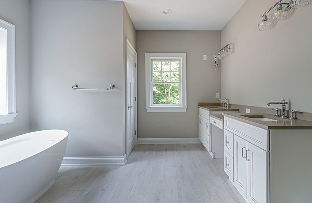 Warren, New Jersey new master bathroom photograph
