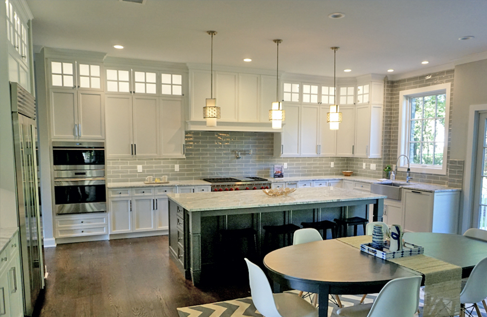 New Kitchen for a single family home builder in Short Hills, New Jersey