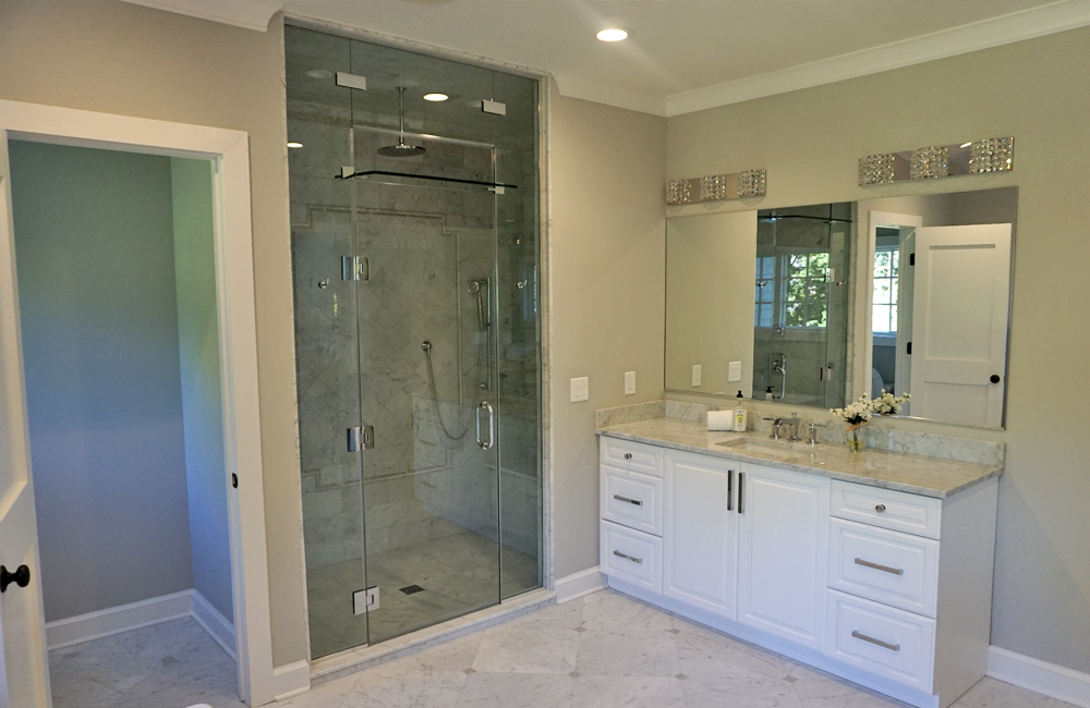 one of 6 bathroom we designed and installed in this short hills new jersey home.