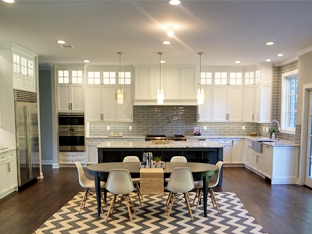 New Home Kitchen in Short Hills, Nj by The Litchen Classics