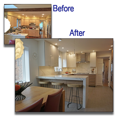 kitchen remodeling nj before and after