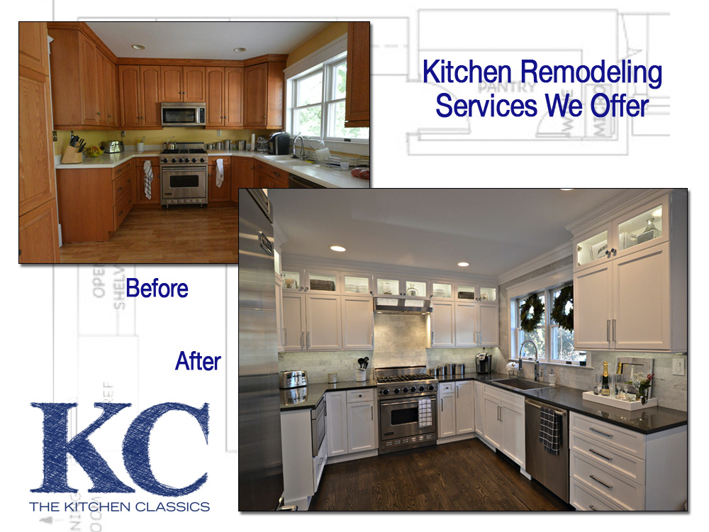 kitchen remodeling nj kitchen classics services