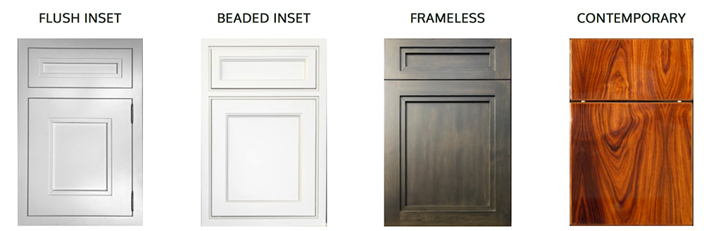 Craft-Maid Kitchen Cabinets styles we sell