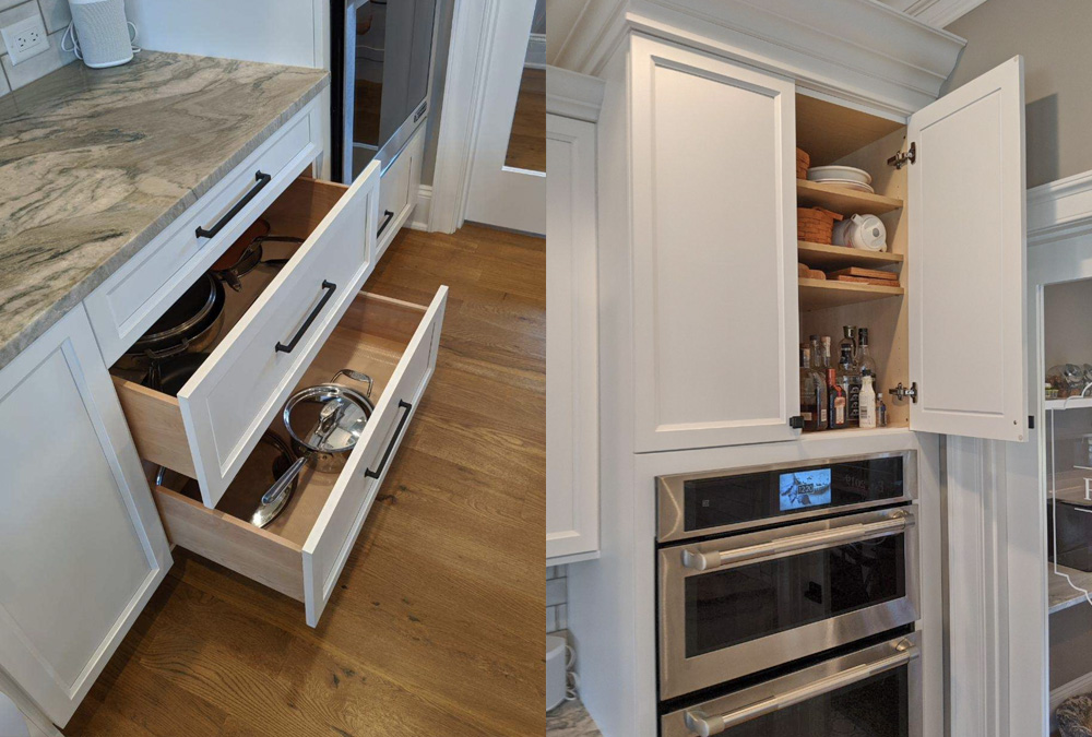 Well-designed-oven-and-stove-cabinetry