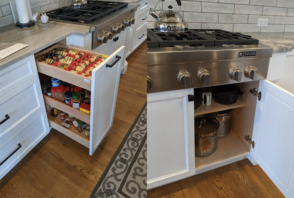 Well-designed-stove-cabinetry
