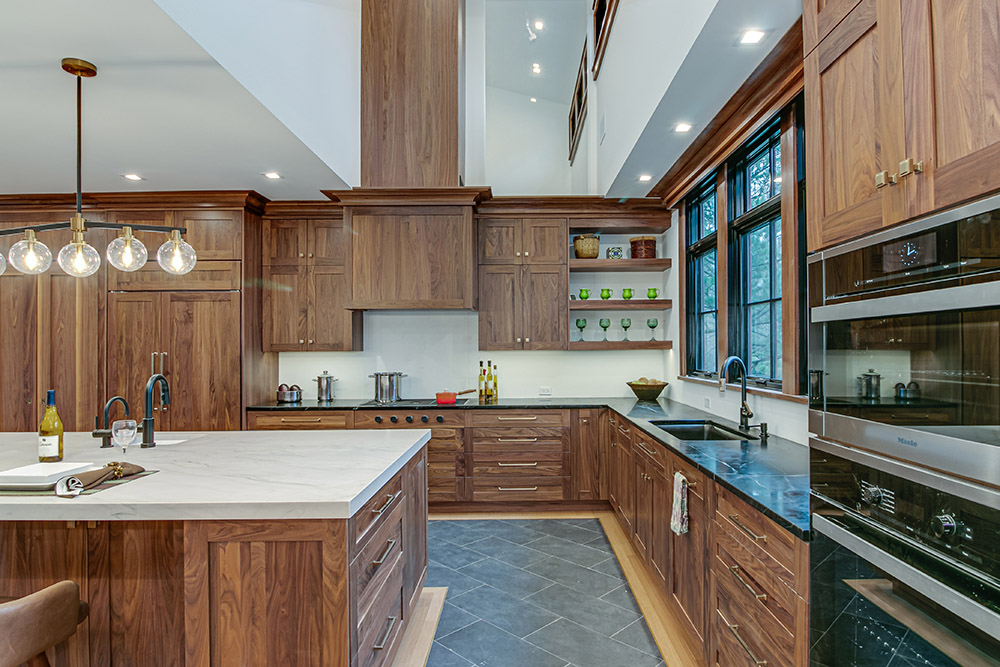 The Beauty Of Walnut Kitchen Cabinets - By The Kitchen ...